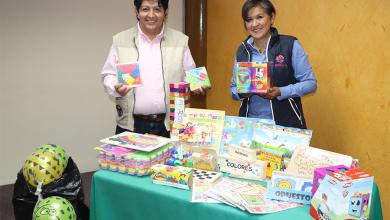 Photo of UPT se une a la campaña de entrega de juguetes didácticos a la fundación Lucina Gasca Neri