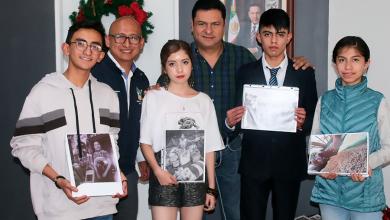 Photo of Daniel Jiménez reconoce a  jóvenes ganadores del Concurso de Foto Móvil