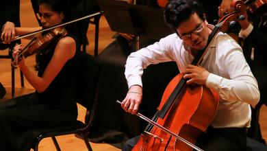 Photo of Brilla OSUAEH al interpretar Sinfonía Fantástica de Berlioz