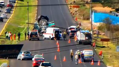 Photo of Muere una persona tras caída de anuncio vial, en carretera de Hidalgo