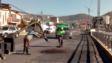 Photo of Trabajos de bacheo en boulevares de Pachuca