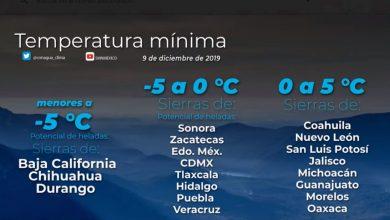Photo of Hoy se pronostican heladas en sierras de Hidalgo