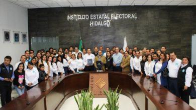 Photo of Entregan plataforma electoral Nueva Alianza Hidalgo y Más por Hidalgo