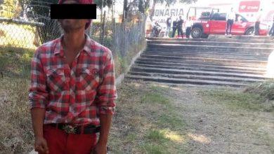 Photo of Hombre moviliza a la policía de Ixmiquilpan, estaba encobijado entre los árboles