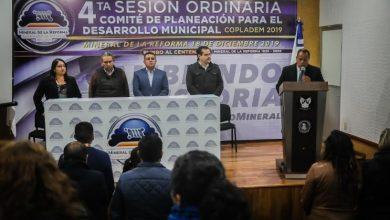 Photo of Mineral de la Reforma lleva a cabo la 4ta Sesión de COPLADEM