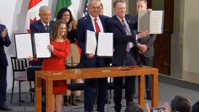 Photo of Firman México, EUA y Canadá cambios al T-MEC