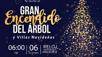 Photo of Invita Presidencia de Pachuca al encendido del árbol y villas navideñas en el Reloj Monumental