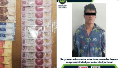 Photo of Asegura SSPH a presunto asaltante en Pachuca