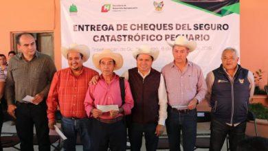 Photo of Entregan cheques del Seguro Pecuario Catastrófico en Tepehuacán y Molango