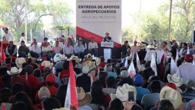 Photo of Entrega de apoyos agropecuarios para el Valle del Mezquital