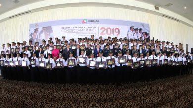 Photo of Condecora Gobierno de Omar Fayad  a 135 agentes de la Policía Industrial Bancaria