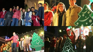 Photo of Gobernador, encabeza festejo de encendido de árbol navideño en Tulancingo