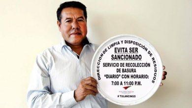 Photo of En Tulancingo habrá recolección de basura normal este 12 de diciembre