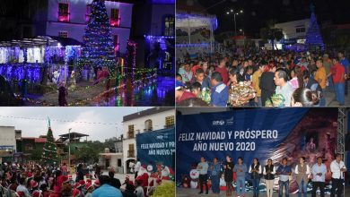 Photo of Espectacular encendido del Árbol Navideño 2019 en Xochiatipan