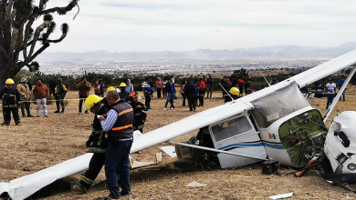 Photo of Cae avioneta en Pachuca, tres lesionados