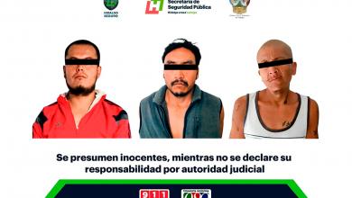 Photo of En operativo contra probable narcomenudeo, asegura SSPH a tres individuos en Tula y Mixquiahuala