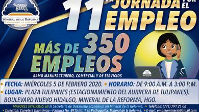 Photo of Próximo 5 de febrero, 11° jornada por el empleo en Mineral de la Reforma