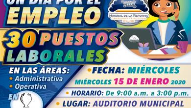 """Photo of Invita Mineral de la Reforma, a """"UN DÍA POR EL EMPLEO"""" en Pachuquilla"""