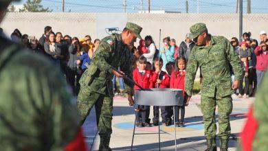 Photo of Realizan ceremonia de incineración y abanderamiento en preescolar de El Venado