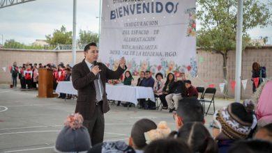 Photo of Inaugura alcalde Raúl Camacho espacio de alimentación en Mineral de la Reforma