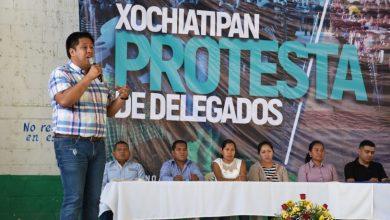 Photo of Alcalde de Xochiatipan realiza toma de Protesta a nuevos Delegados