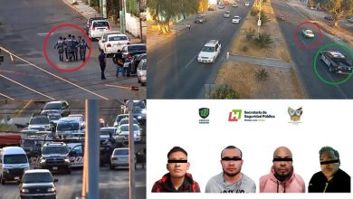 Photo of Detienen a 4 asaltantes que escapaban en taxi en Pachuca