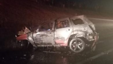 Photo of Choque en la México-Tuxpan deja 4 personas calcinadas