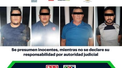 Photo of Detienen a 4 hombres que transportaban a migrantes centroamericanos