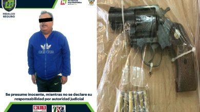 Photo of Aseguran en Tulancingo a hombre armado tras   presuntas detonaciones