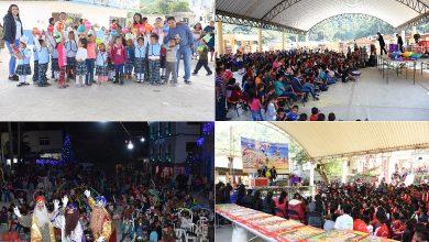 Photo of Todo un éxito festejo del Día de Reyes en comunidades y barrios de Xochiatipan