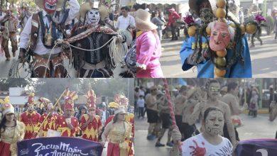 Photo of Participaron 3 mil disfrazados en la «Magia de los Carnavales de Hidalgo»