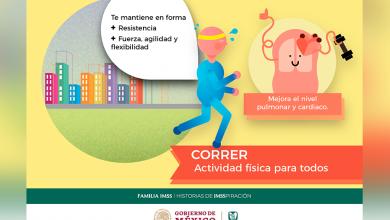 Photo of Correr, una actividad física recomendada por el IMSS