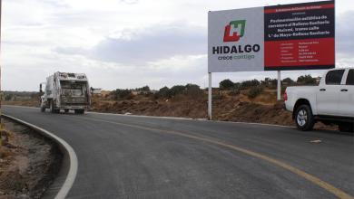 Photo of SOPOT realiza pavimentación de la carretera hacia el relleno sanitario del Huixmi