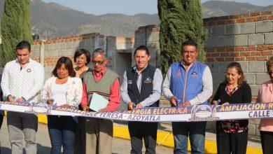 Photo of Inaugura alcalde Raúl Camacho electrificación en Azoyatla