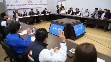 Photo of Comité Estatal de Seguridad en Salud se declara en sesión permanente por coronavirus