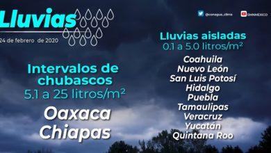 Photo of Se pronostican lluvias aisladas para Hidalgo