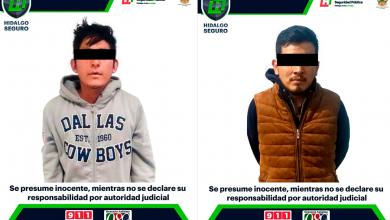 Photo of En operativos contra delincuencia,  asegura SSPH a dos personas