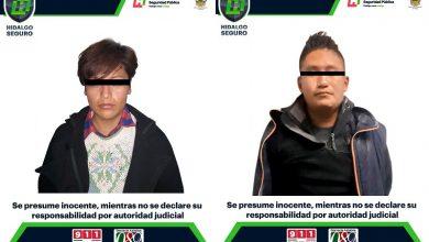 Photo of Detienen a dos personas con drogas y arma en Ixmiquilpan