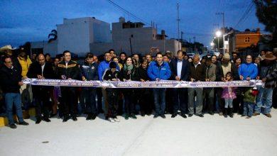 Photo of Inaugura alcalde Raúl Camacho pavimentación en el Venado