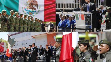 Photo of Encabezó gobernador de Hidalgo la conmemoración del Día de la Bandera