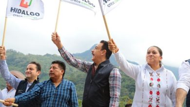 Photo of Dan banderazo a obra que conectará a Tlanchinol con la carretera Pachuca-Huejutla