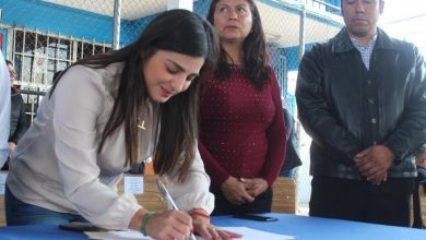Photo of Firman convenio de colaboración Inhide y la primaria Ramón G. Bonfil