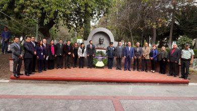 Photo of Senador asiste a la conmemoración del 22 aniversario luctuoso de Vicente Aguirre