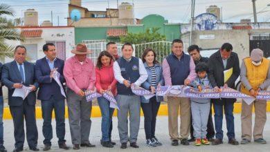 Photo of Entrega Raúl Camacho, pavimentación en Av. Los Ingenieros en los Tuzos