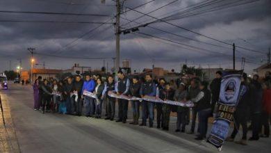 Photo of Inaugura Rául Camacho pavimentación de concreto en Fracc. El Saucillo