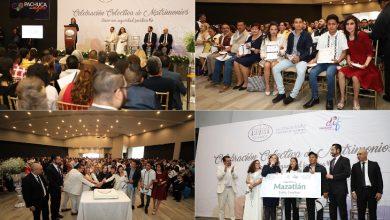 Photo of Incrementa participación en la celebración Colectiva de Matrimonios en Pachuca