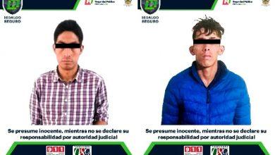 Photo of Detiene SSPH a 2 personas con probable droga en región Tula-Tepeji