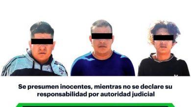 Photo of SSPH detiene a 3 individuos con arma en Atotonilco de Tula