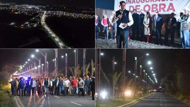 Photo of Gadoth Tapia inaugura luminarias de bulevar Teocalco-Tula