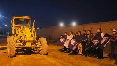 Photo of Da alcalde Raúl Camacho Baños banderazo de obra para la construcción de pavimentación en la localidad de NCPA Chacón
